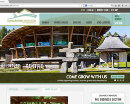 Squamish Chamber of Commerce Website